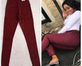 wine ladies jeans trousers in ghana