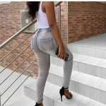 Ash Jeans Trousers For Ladies