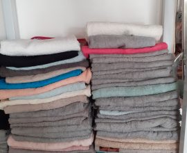 medium size towel