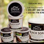 Delix Black Soap