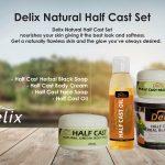 Delix Natural Half Cast Set