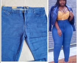 plus size high waisted jeans in ghana