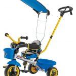 Eurotrike Ultima Canopy Plus Autosteer Trike -Blue Tricycle