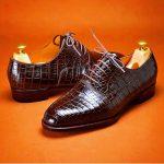 Handmade Crocodile Skin Shoes