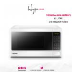 Toshiba 20 Litre Microwave Solo