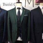 Dark Green Three Piece Suit