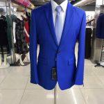 Cobalt Blue Mens Suit