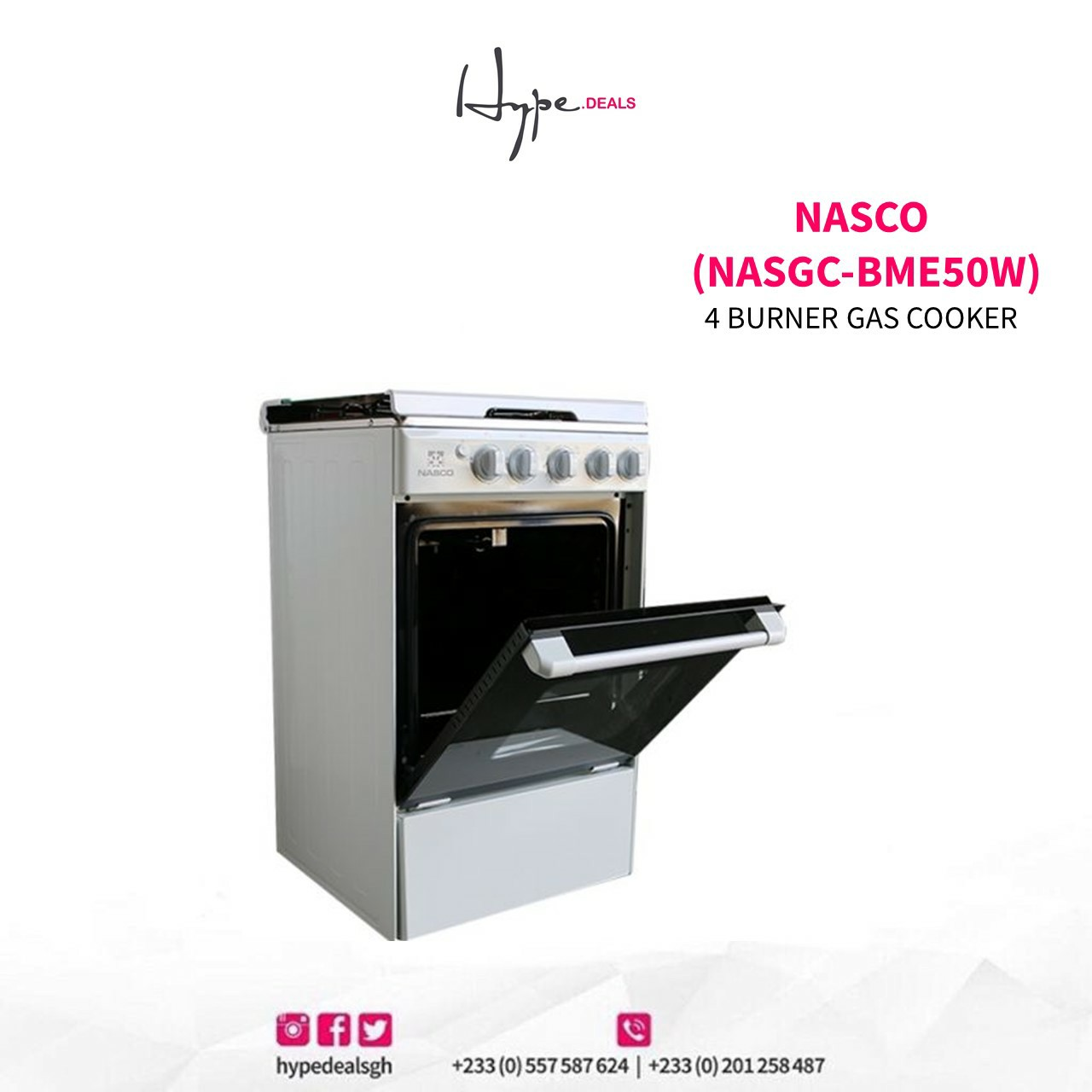 nasco 4 burner price in ghana