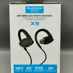 Original ovevo 8GB Mp3 X9 ipx8 waterproof wireless headset