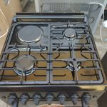 General Tech Wooden 60×60 3 Gas 1 Electric Cooker with Oven and Grill