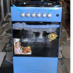 Volcano 50X50 4 Burner Gas Cooker With Oven And Grill