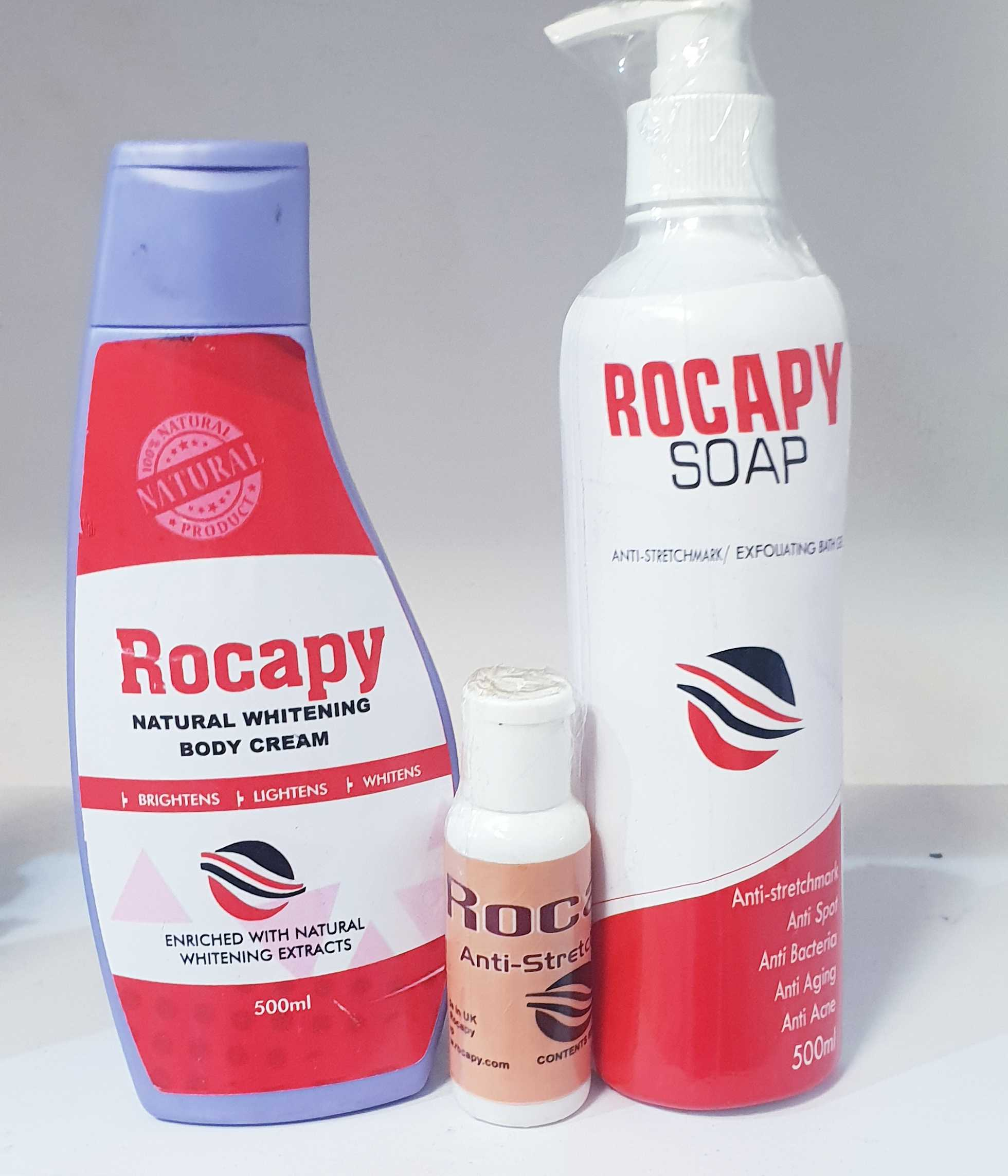Rocapy Soap,Oil,Stretch Marks Lotion