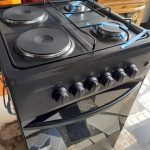 Volcano 2 Electric 2 Gas Cooker With Oven And Grill