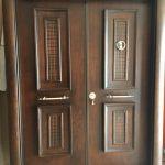 Double Steel Security Doors