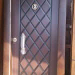 Single Metal Security Door