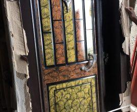 steel door in ghana