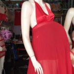 Red Pregnancy Nighty