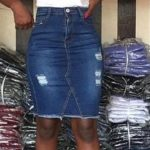 Jeans Skirt For Ladies