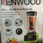 Kenwood Broken Health Food Machine