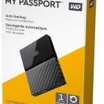 WD My Passport External Hard Drive 1Tb