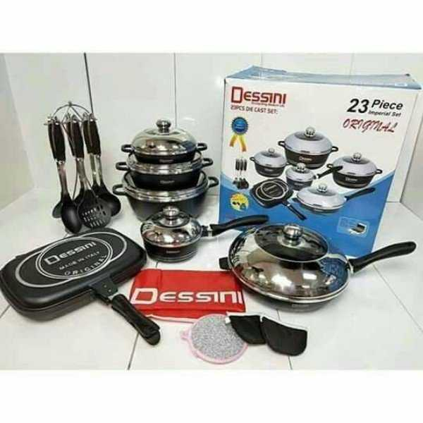 Dessini 23 Pieces Cookware