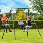 Seesaw Swing Metal Outdoor Play