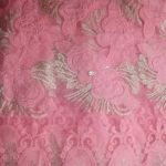 Pink Lace Fabric