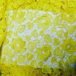 Yellow Lace Fabrics