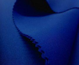 blue scuba fabric