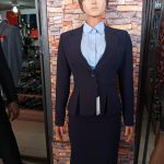 Dark Blue Womens Business Suit