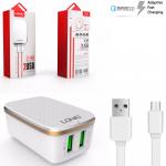 Ldnio 2.4A repid charger 2usb port
