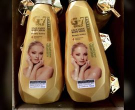 g7 gold exclusive body milk