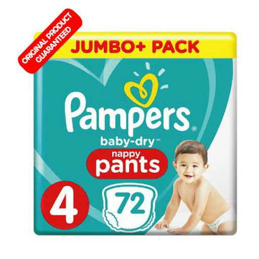 Pampers Baby Dry pants Size 4