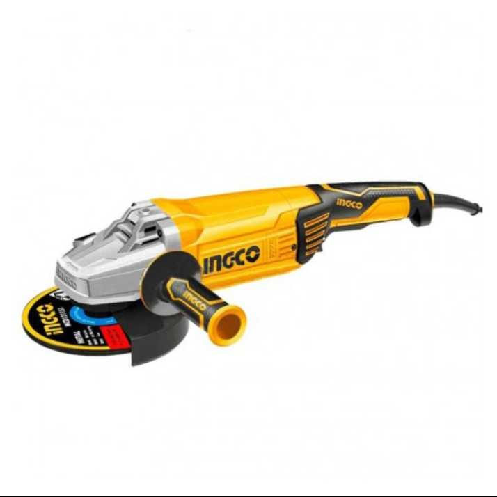 Ingco Angle Grinder 9″ 2600w