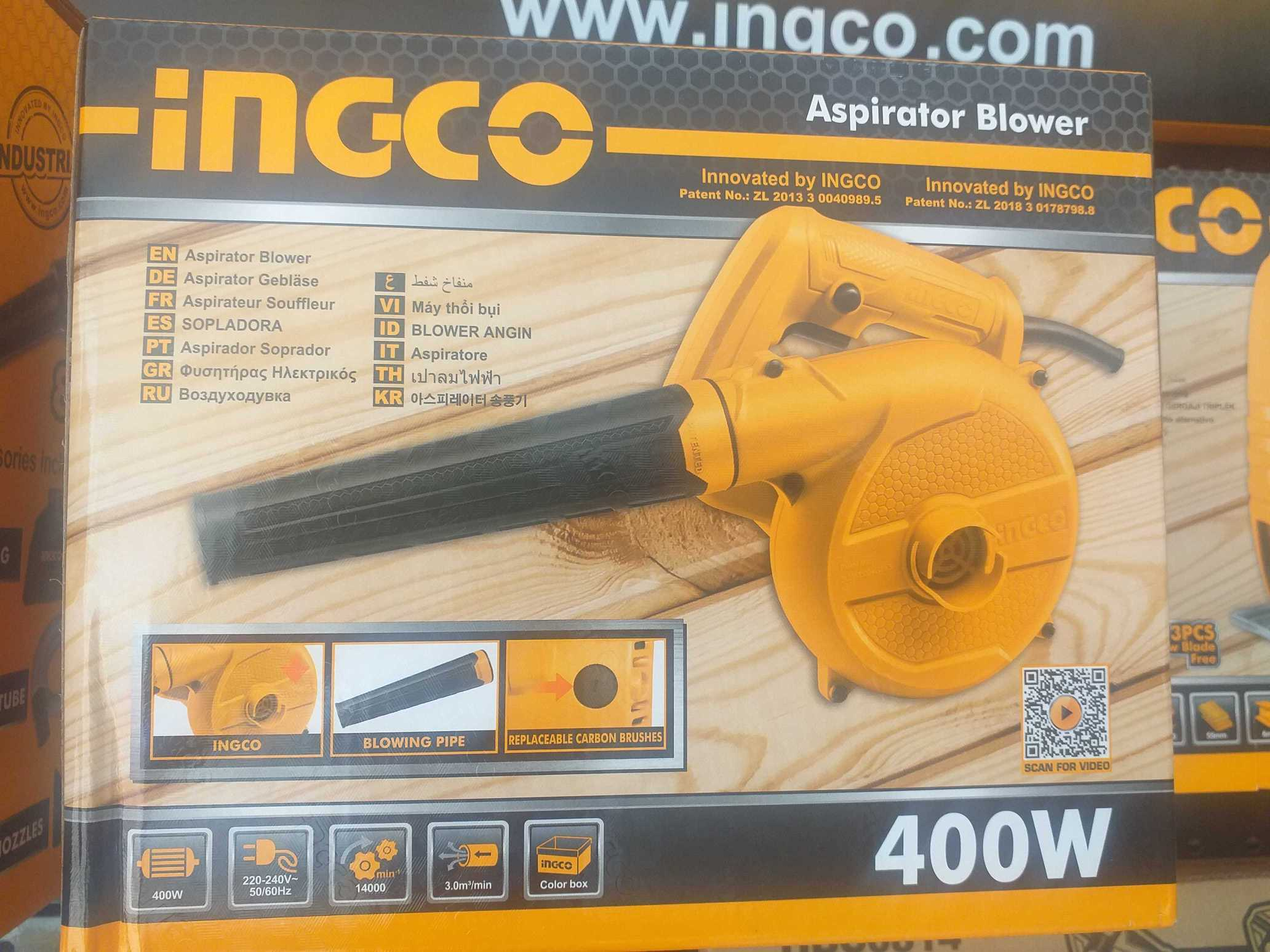 Ingco Aspirator Blower Air Blower 400w