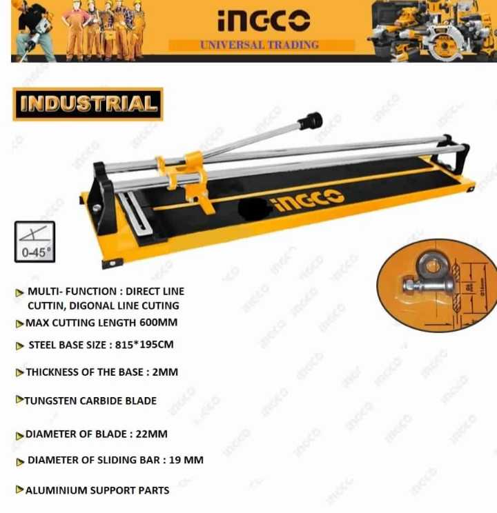 Ingco Tile Cutter 600mm