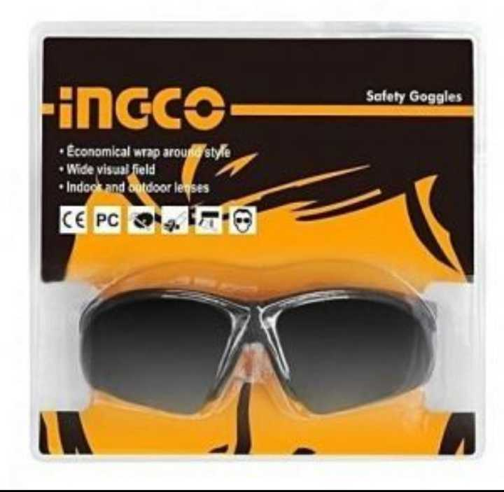 Safety Goggles Black