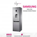 Samsung 290 Litre Double Door Fridge +Dispenser- RB34FWRNDSA