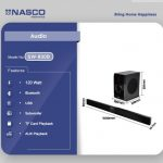 Nasco Wireless Soundbar Home Theatre SW 800B