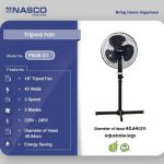 Nasco Tripod Fan FS40-21