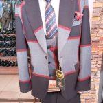 Multi Coloured Three Piece Suit