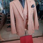 Checkered Three Piece Suits
