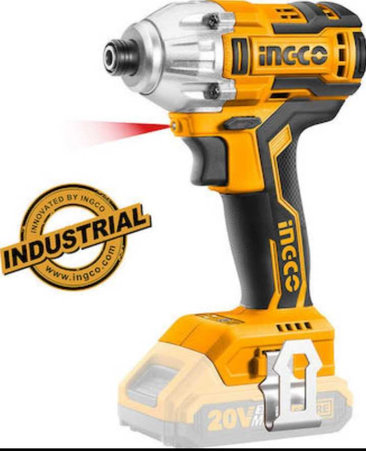 Ingco Cordless Drill without Drill and Battery