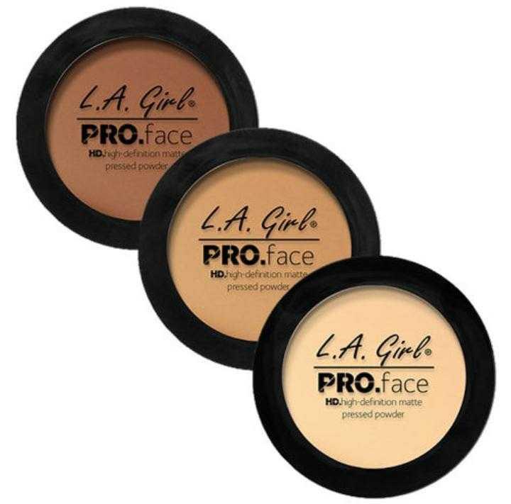 la girl pro face powder