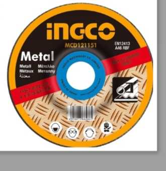 Ingco cutting disc 41/2″ (inox