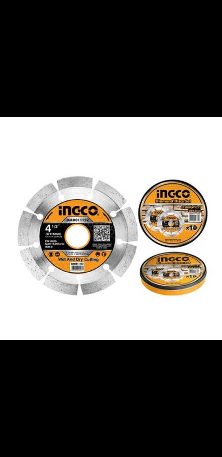 ingco concrete cutting disc universal 4 1/2″