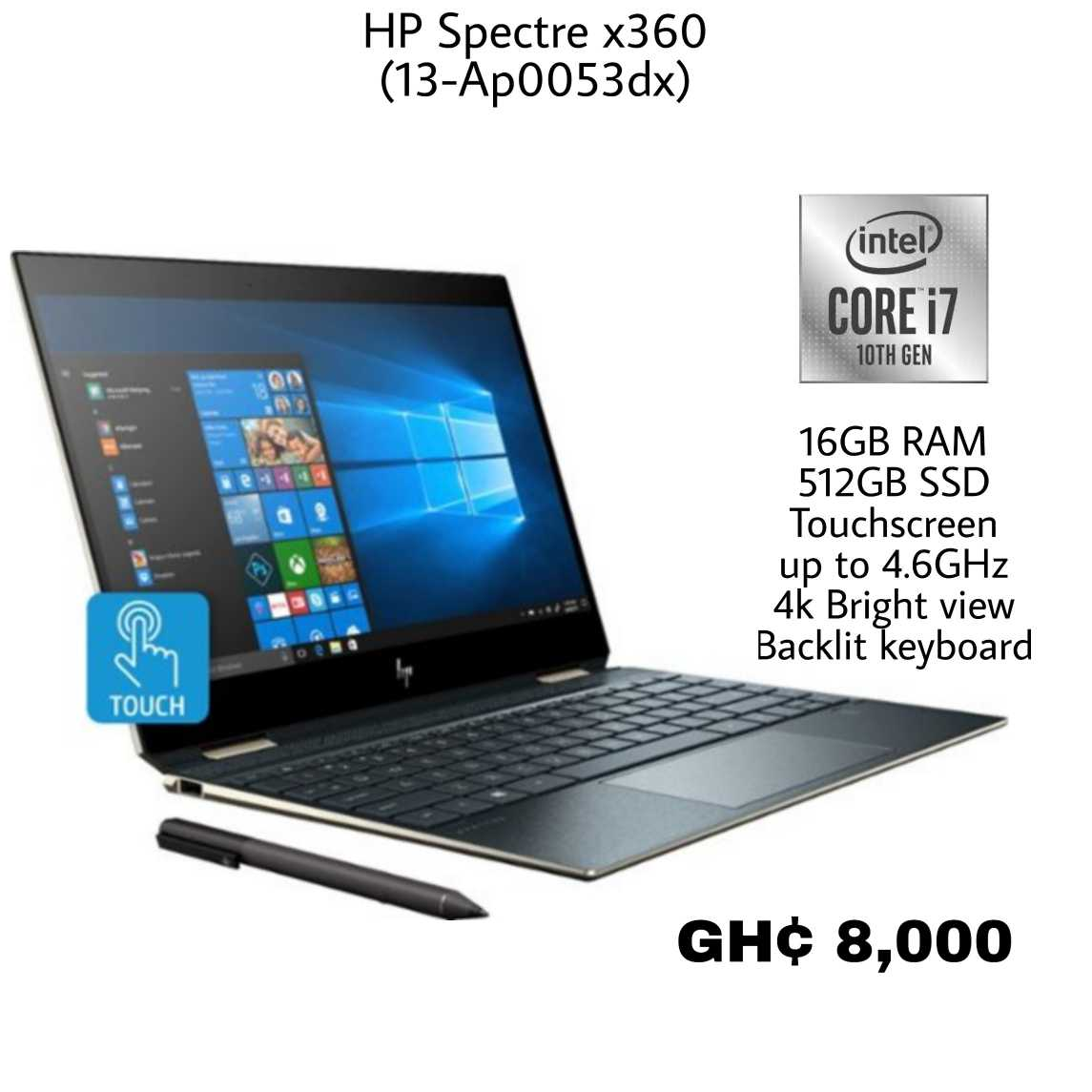 hp spectre x360 core i7