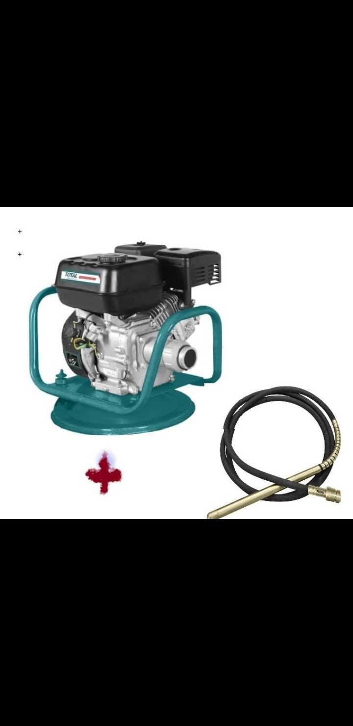 Total Gasoline Concrete Vibrator 5.5HP