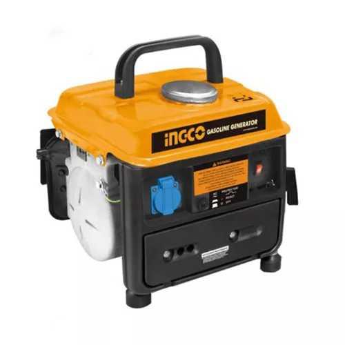 INGCO | Gasoline Generator | 0.65KVA/50HZ | 4 L | 16.5 KG | GE8002