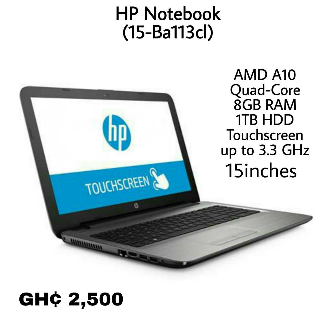 hp notebook amd a10 price in ghana